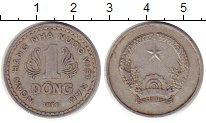 Изображение Монеты Вьетнам 1 донг 1976 Алюминий XF