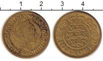 Изображение Монеты Дания 10 крон 1990 Латунь VF