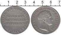Изображение Монеты Пруссия 1 талер 1848 Серебро XF