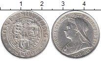 Изображение Монеты Великобритания 1 шиллинг 1899 Серебро XF+