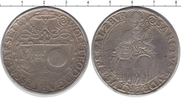 Картинка Монеты Зальцбург 1 талер Серебро 0