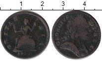 Изображение Монеты Великобритания 1 фартинг 0 Медь VF- Георг III