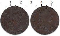 Изображение Монеты Великобритания 1/2 пенни 1774 Медь VF