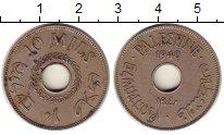 Изображение Монеты Палестина 10 милс 1940 Медно-никель XF