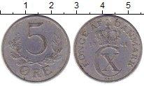 Изображение Монеты Дания 5 эре 1941 Алюминий XF
