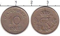 Изображение Монеты Дания 10 эре 1949 Медно-никель VF