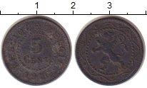 Изображение Монеты Бельгия 5 сантим 1916 Цинк VF