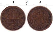 Изображение Монеты Нидерланды 1 цент 1929 Бронза XF