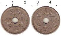 Изображение Монеты Дания 25 эре 1929 Медно-никель VF