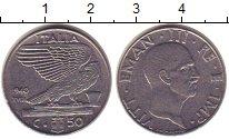 Изображение Монеты Италия 50 сентесим 1940 Сталь XF