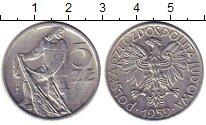 Изображение Монеты Польша 5 злотых 1959 Алюминий