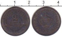 Изображение Монеты Румыния 2 лей 1941 Цинк VF