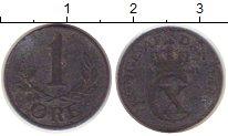 Изображение Монеты Дания 1 эре 1941 Цинк VF