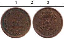 Изображение Монеты Люксембург 25 сентим 1946 Бронза XF Шарлотта - Великая