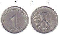 Изображение Монеты Германия ГДР 1 пфенниг 1952 Алюминий XF