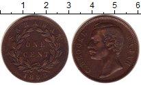 Изображение Монеты Саравак 1 цент 1888 Медь XF
