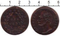 Изображение Монеты Малайзия Саравак 1 цент 1889 Медь XF