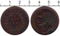 Изображение Монеты Малайзия Саравак 1 цент 1891 Медь XF