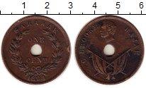 Изображение Монеты Малайзия Саравак 1 цент 1894 Медь XF