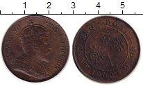 Изображение Монеты Гонконг 1 цент 1902 Медь