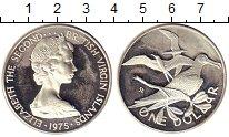 Изображение Монеты Виргинские острова 1 доллар 1975 Серебро