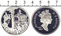 Изображение Монеты Канада 1 доллар 2002 Серебро Proof