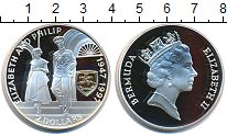 Изображение Монеты Бермудские острова 2 доллара 1997 Серебро Proof