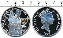 Изображение Монеты Соломоновы острова 10 долларов 1997 Серебро Proof