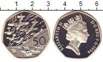 Изображение Монеты Великобритания 50 пенсов 1994 Серебро Proof-