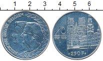 Изображение Монеты Бельгия 250 франков 1999 Серебро UNC