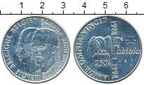 Изображение Монеты Бельгия 250 франков 1998 Серебро UNC