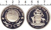 Изображение Монеты Багамские острова 10 долларов 1995 Серебро Proof