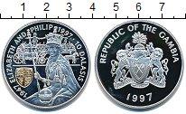 Изображение Монеты Гамбия 10 даласи 1997 Серебро Proof