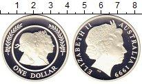 Изображение Монеты Австралия 1 доллар 1999 Серебро Proof