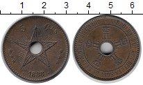 Изображение Монеты Бельгия Бельгийское Конго 5 сантим 1888 Бронза XF