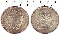 Изображение Монеты Франция 50 франков 1978 Серебро UNC-