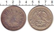Изображение Монеты Мексика 1 песо 1908 Серебро XF