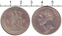 Изображение Монеты Нидерланды 1 гульден 1847 Серебро XF