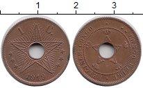Изображение Монеты Бельгийское Конго 1 сантим 1919 Бронза XF+