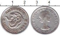 Изображение Монеты Австралия 1 шиллинг 1954 Серебро XF- Елизавета II