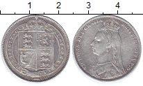 Изображение Монеты Великобритания 1 шиллинг 1890 Серебро VF