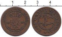 Изображение Монеты Нидерландская Индия 1 цент 1857 Медь VF