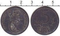 Изображение Монеты Дания 5 эре 1943 Цинк VF