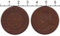 Изображение Монеты Австралия 1 пенни 1916 Бронза XF Георг V