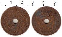 Изображение Монеты Родезия 1 пенни 1957 Бронза XF