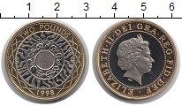 Изображение Монеты Великобритания 2 фунта 1998 Биметалл UNC Елизавета II.  Истор