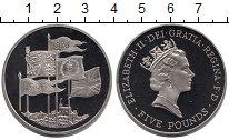 Изображение Монеты Великобритания 5 фунтов 1996 Медно-никель UNC