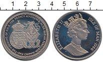 Изображение Монеты Остров Мэн 1 крона 1986 Медно-никель UNC