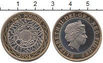 Изображение Монеты Великобритания 2 фунта 2004 Биметалл UNC