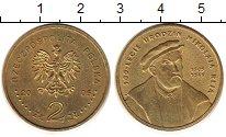 Изображение Монеты Польша 2 злотых 2005 Латунь UNC-